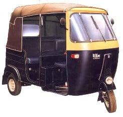 Auto Rickshaw Tariff Card for Mumbai Region