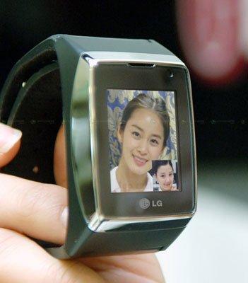 LG 3G Wrist Watch Mobile Phone