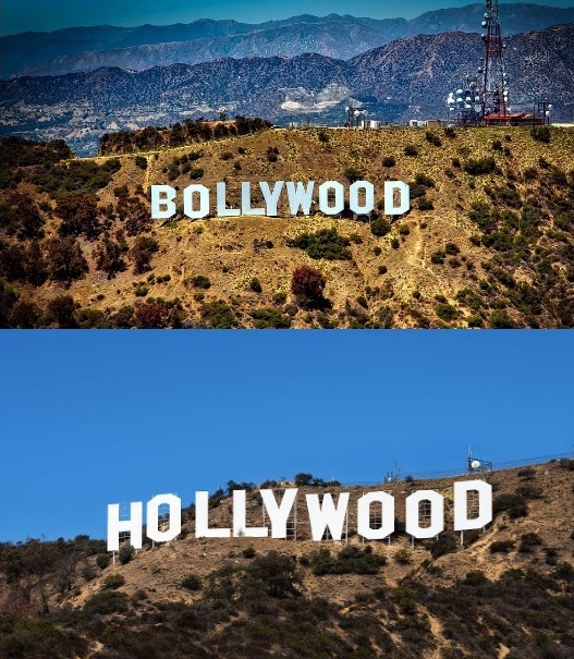 hollywood and bollywood