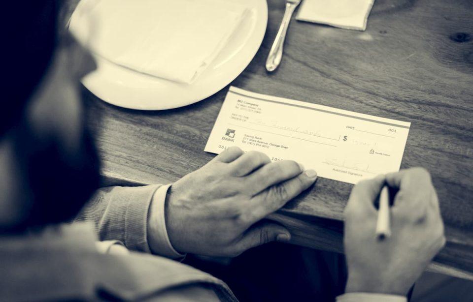 Cheque-Finance