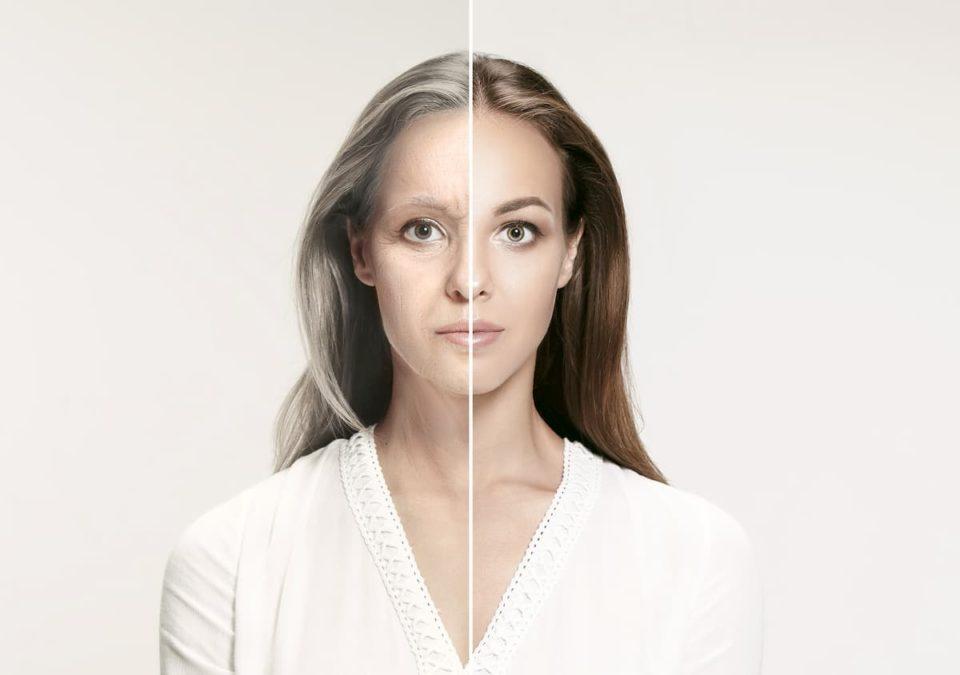skin aging reasons