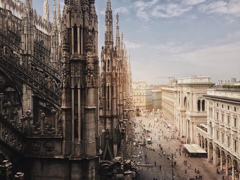 Architecture- Duomo di Milano by Haiyin Lin