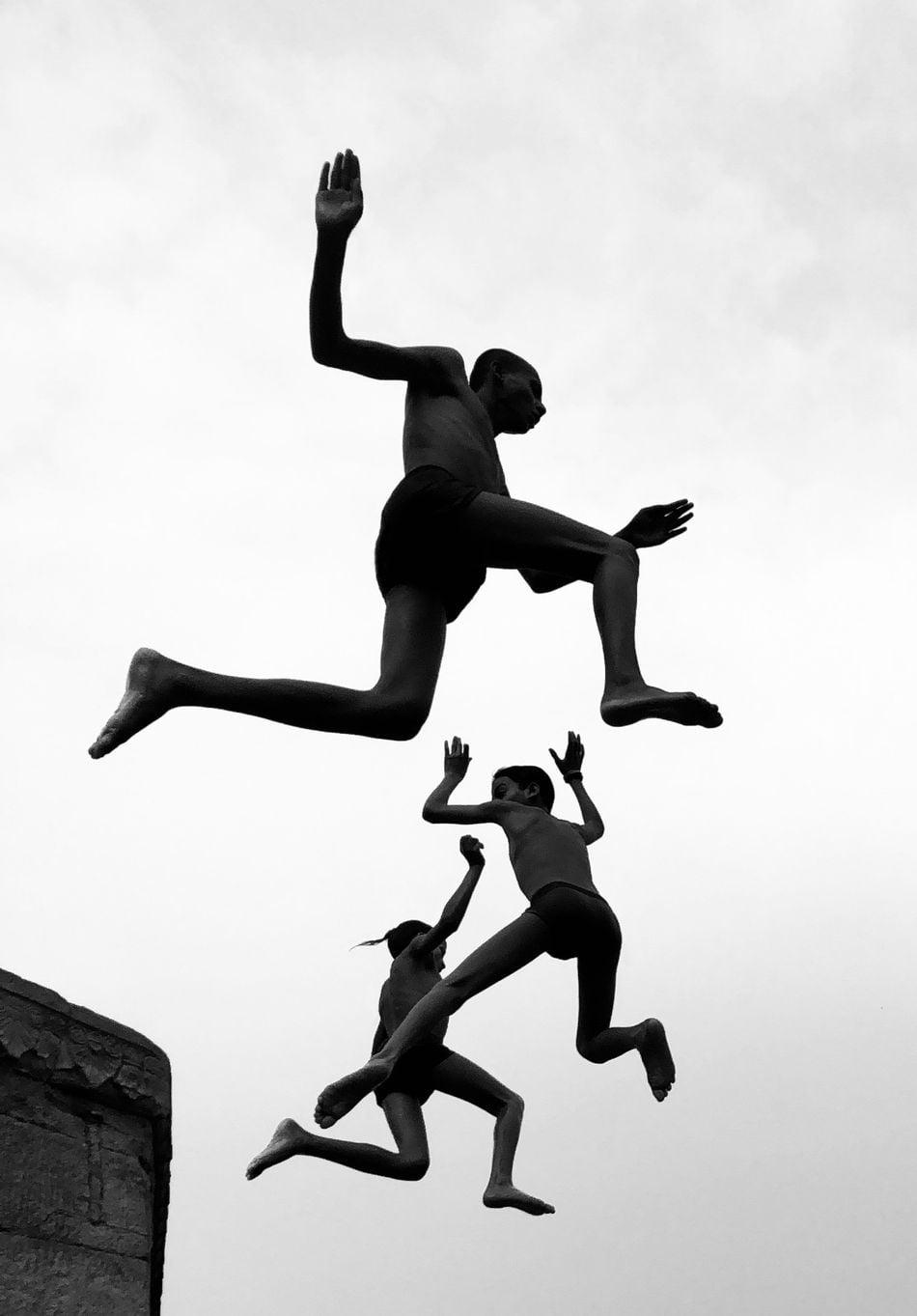 Flying Boys by Dimpy Bhalotia