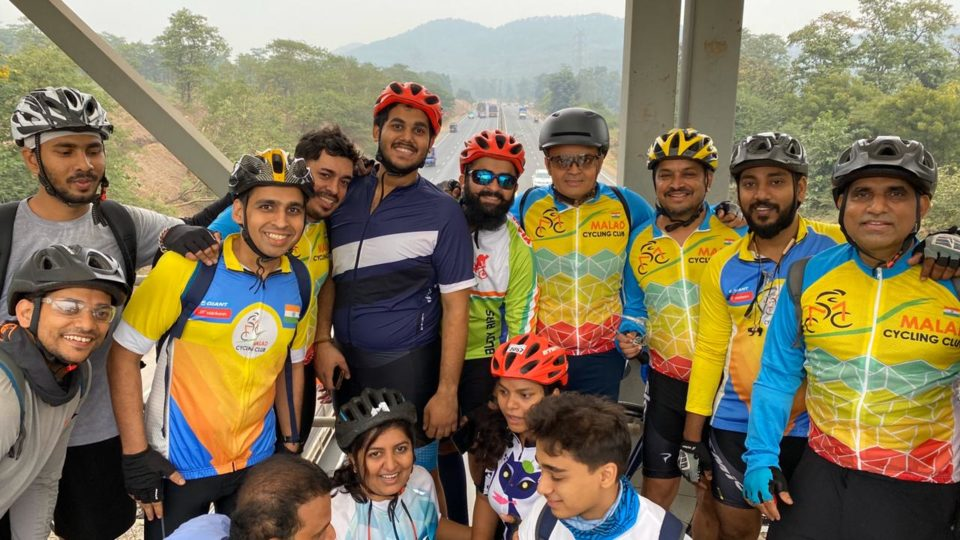 100kms Group Ride to Virar Toll