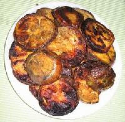 Baigan Fry Eggplant