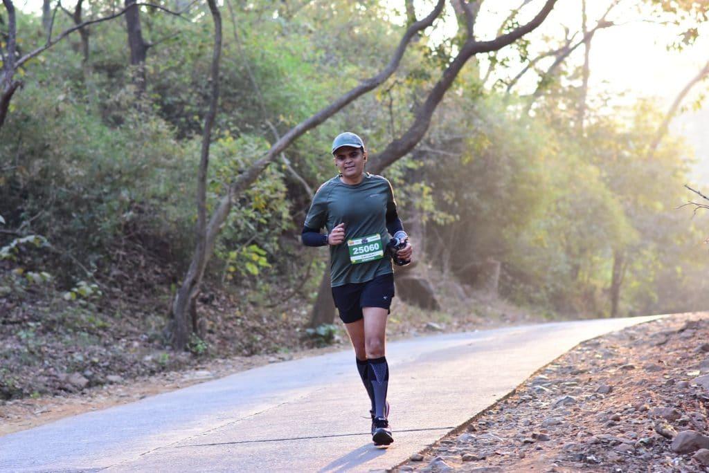 First 25km Marathon at BNP