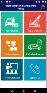 maha-traffic mobile app