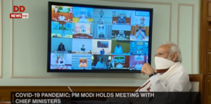 PM Modi Video Conference with Chief Ministers
