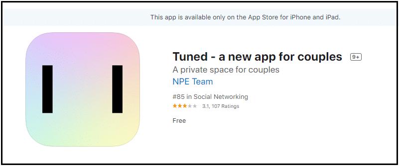 Facebook Tuned App