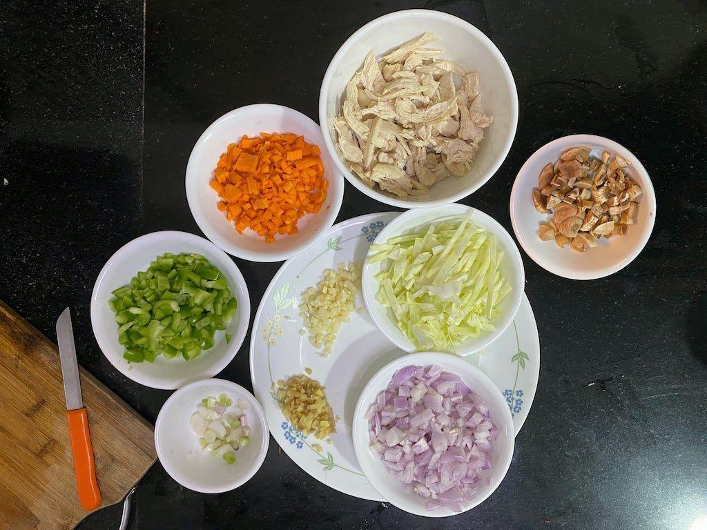 Chicken Fried Rice - All Veggies