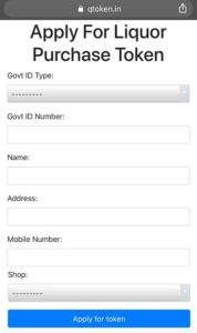 Required details to Register Online