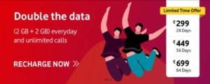 vodafone double data offer