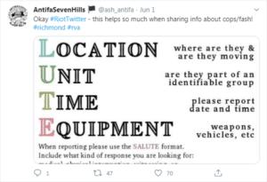 antifa tweet