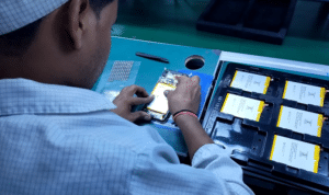 smartphone manufacturing plant india