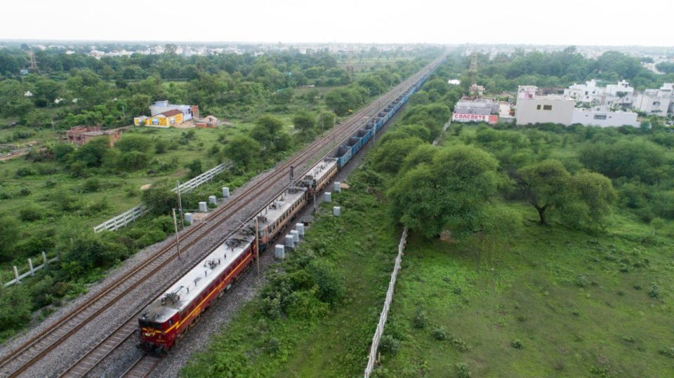 Indian Railways Sheshnaag on Track