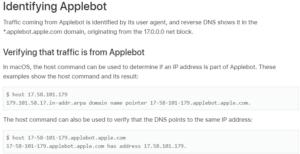 Applebot Testing