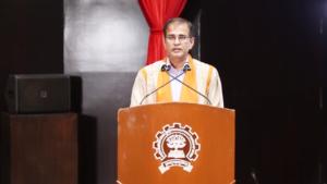 IIT-Bombay's Director-Professor Subhasis Chaudhuri