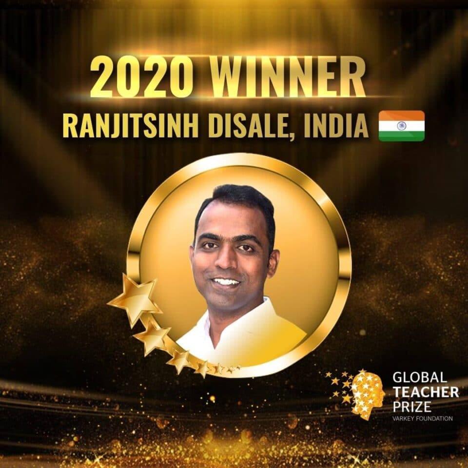 Ranjitsinh Disale Global Teacher Prize Winner 2020