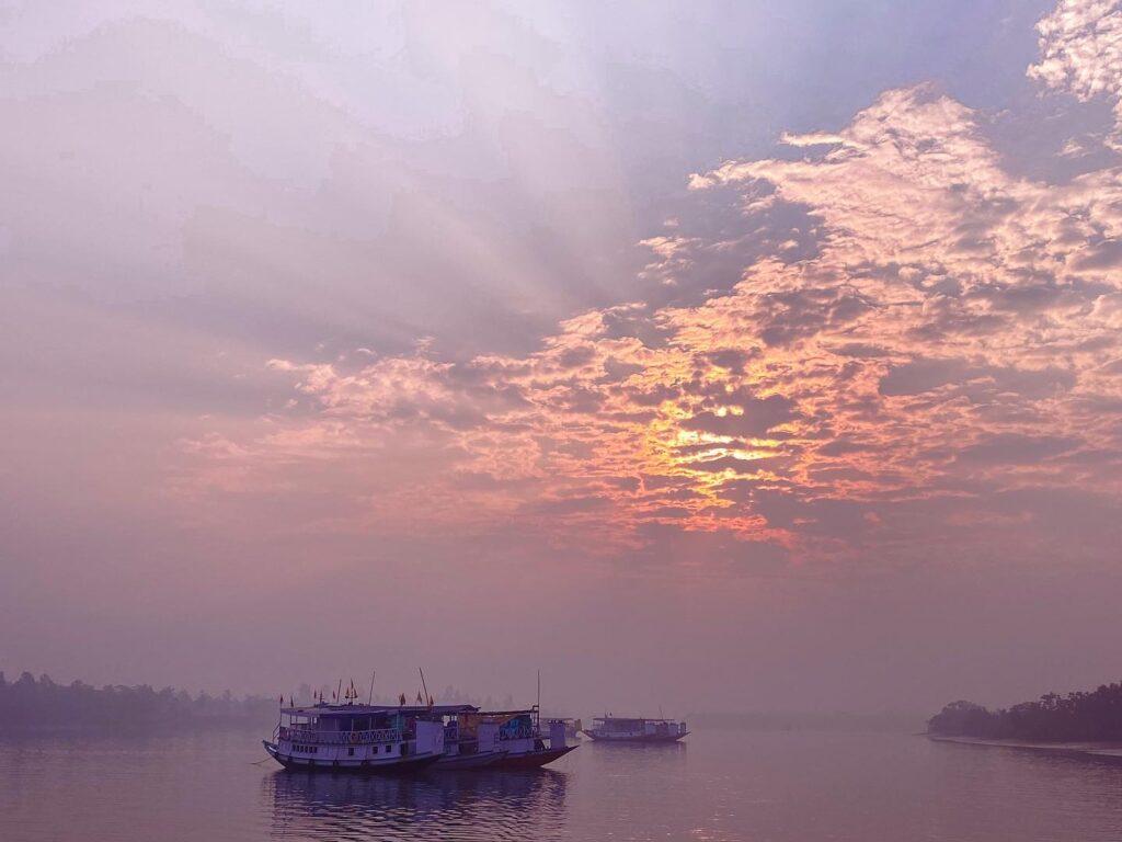 Sunrise in Sundarban Kolkata