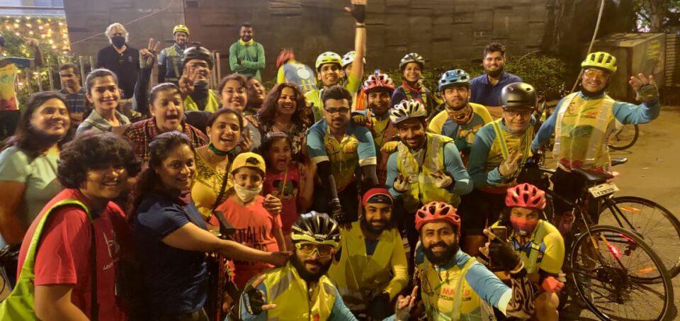 Night Bicycle Ride : Mumbai - Lonavala - Mumbai