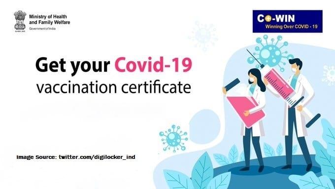 Covid 19 Vaccination Certificate