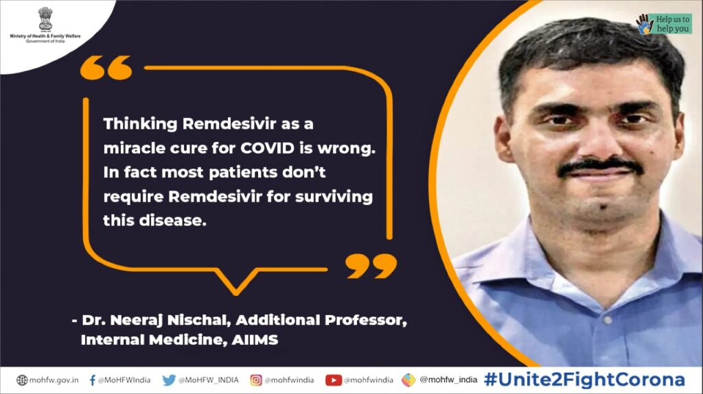 Remdesivir as a miracle cure for COVID is wrong