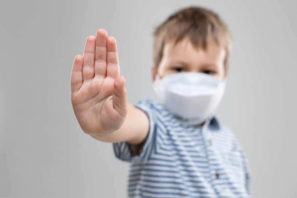 Coronavirus 3rd Wave Impaction on Children