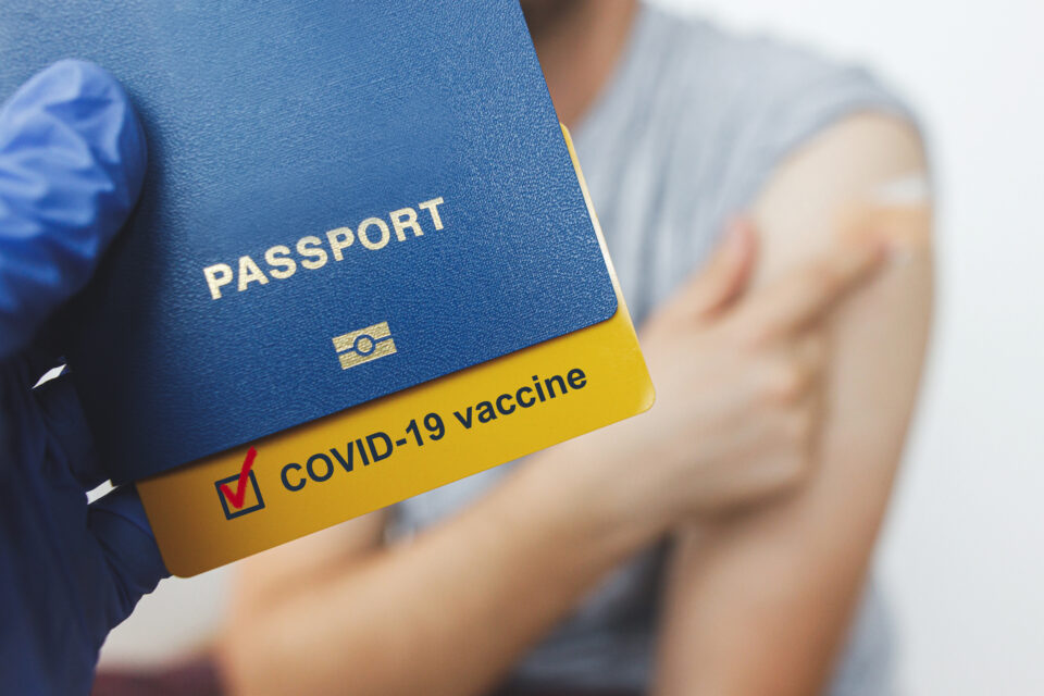 Linked Passport with Covid19 Certificate