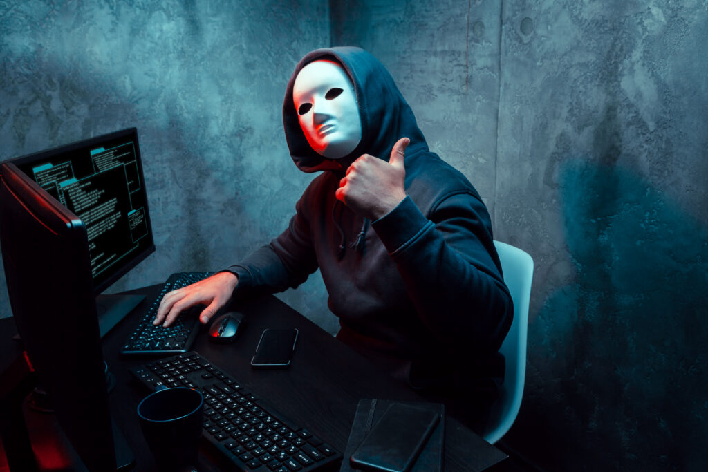 Criminal Active Online Anonymously